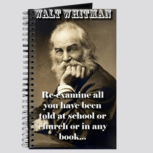 Re-Examine All You Have Been Told - Whitman Journa