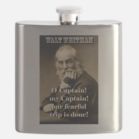O Captain My Captain - Whitman Flask