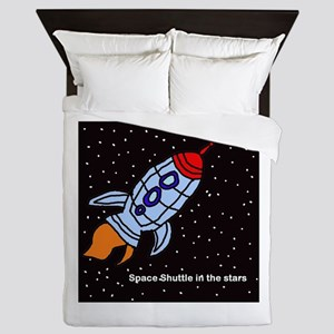 Space Shuttle Queen Duvet