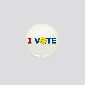 I VOTE: Mini Button