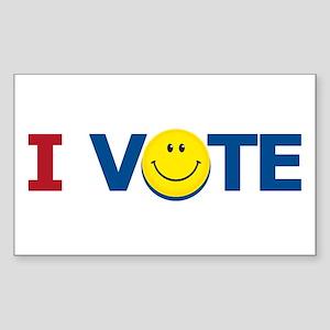 I VOTE: Rectangle Sticker