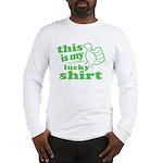 My Lucky Shirt Long Sleeve T-Shirt