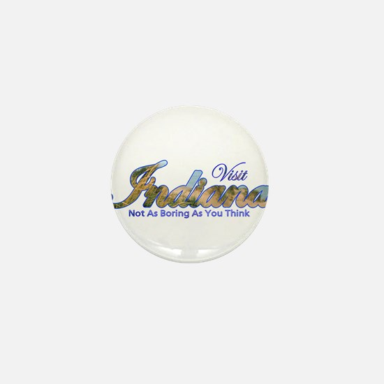 Funny Evansville Mini Button