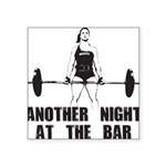 Another Night at the Bar Square Sticker 3