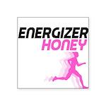 energizer honey Square Sticker 3