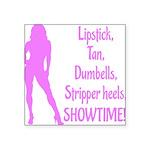 showtime v2 Square Sticker 3