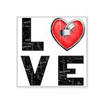 LOVE Square Sticker 3