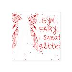 gym-fairy Square Sticker 3