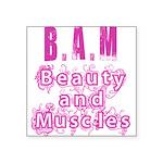 BAM Square Sticker 3