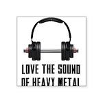 heavy-metal Square Sticker 3