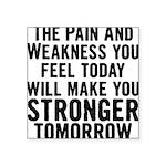 stronger-tomorrow Square Sticker 3