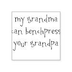 my-granma Square Sticker 3