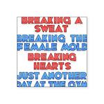breaking Square Sticker 3