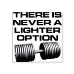 lighter-op Square Sticker 3