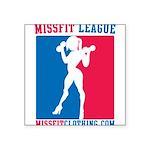 missfit-league Square Sticker 3