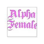 alpha-f Square Sticker 3