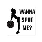 wanna Square Sticker 3