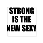 strong Square Sticker 3