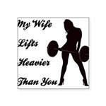 my-wife Square Sticker 3