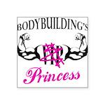 bodyPrincess Square Sticker 3