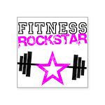 FitnessRockstar Square Sticker 3