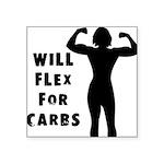 will-flex Square Sticker 3