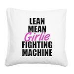 LMFM Square Canvas Pillow
