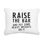 raise-the-bar-soft Rectangular Canvas Pillow