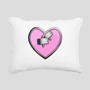 heart Rectangular Canvas Pillow