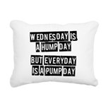 wednesday-is-a-hump-day Rectangular Canvas Pil