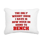 the-only-weight-issue-bench-w Rectangular Canv
