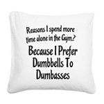 reasons-i-spend Square Canvas Pillow