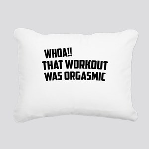 whoa Rectangular Canvas Pillow