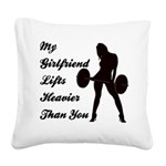 my-gf Square Canvas Pillow
