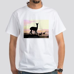 Sunset Hills Alpacas Organic Cotton Tee T-Shirt