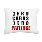 zero Rectangular Canvas Pillow