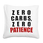 zero Square Canvas Pillow