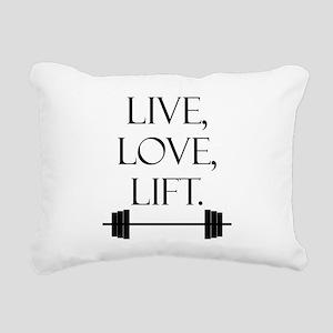 livE_love_LIFT Rectangular Canvas Pillow