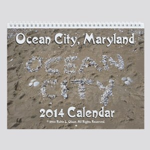 2014 Ocean City Maryland Wall Calendar