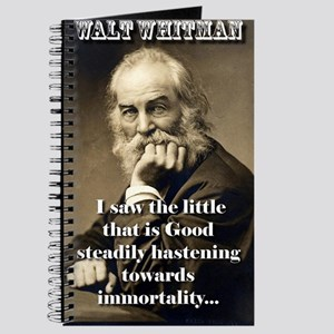 I Saw The Little That Is Good - Whitman Journal