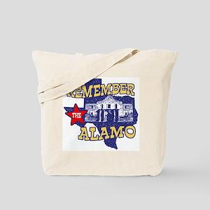 Texas Remember the Alamo Tote Bag