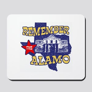 Texas Remember the Alamo Mousepad