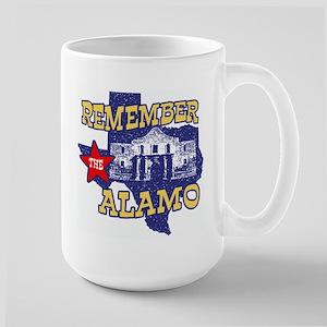 Texas Remember the Alamo Large Mug