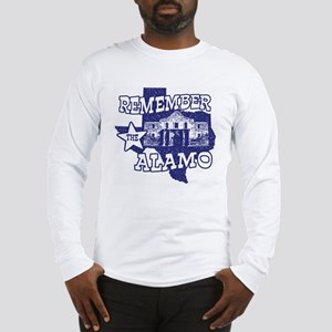 Texas Remember the Alamo Long Sleeve T-Shirt