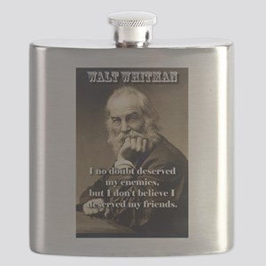 I No Doubt Deserved My Enemies - Whitman Flask