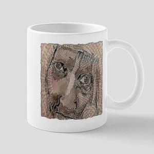 think!! art illustration Mug