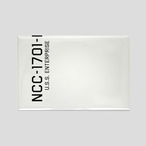 Enterprise NCC-1701-D Rectangle Magnet