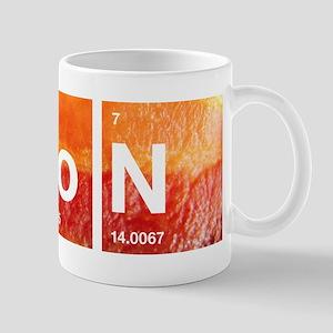 Periodic table father mugs cafepress i love bacon and a periodic table mug urtaz Choice Image