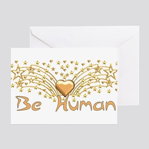 Be Human Greeting Cards (Pk of 10)