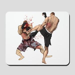 Muay Thai Kick Mousepad